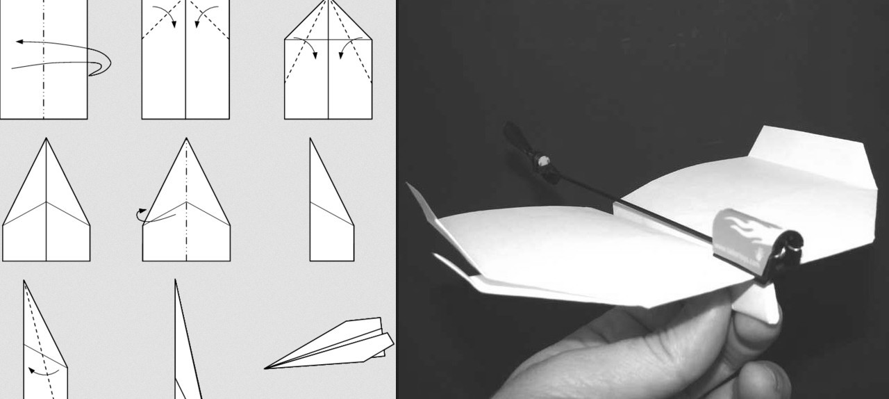 Electric Paper Airplane – PowerUp, Electric Powered Plane