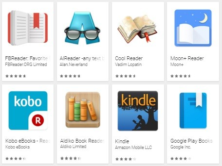 8 Top Rated Android Reading Apps Compared
