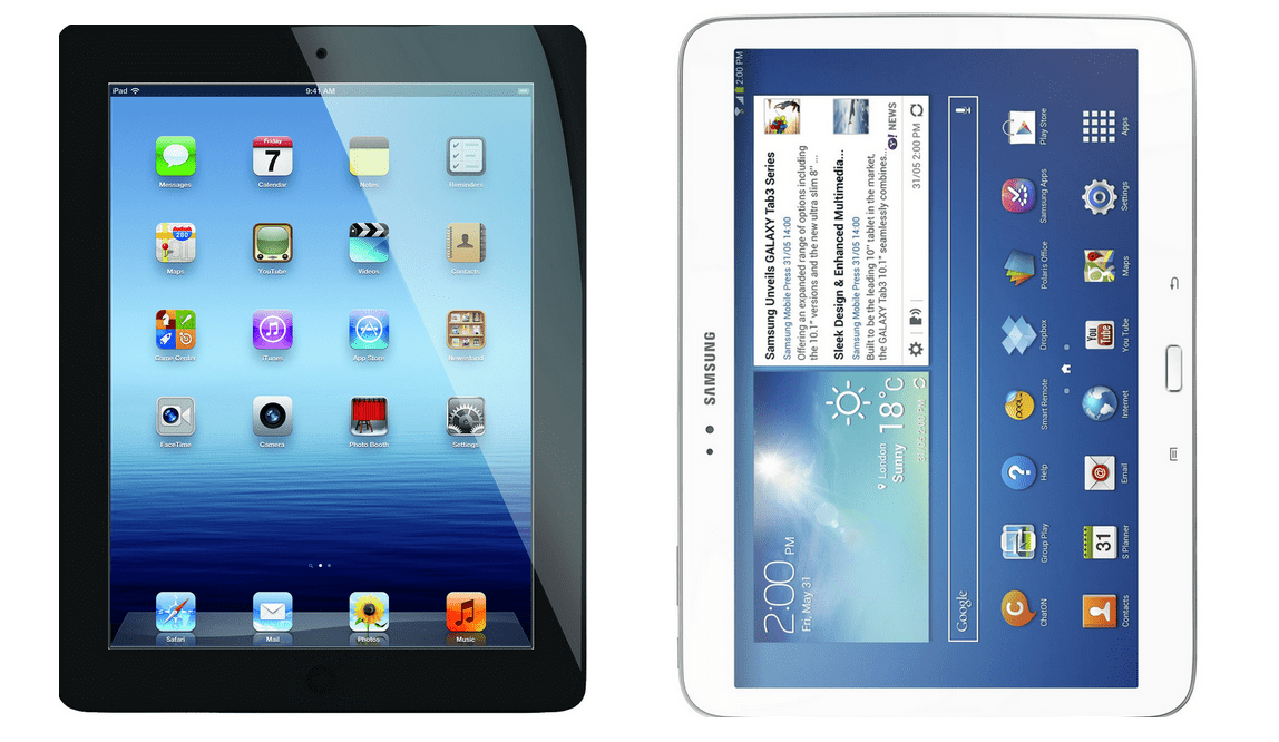 Difference between iPads and Tablets