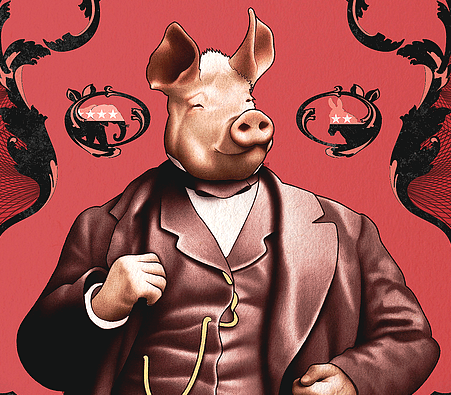 Animal Farm Allegory Chart – Interpretation of George Orwell's Characters and Symbolism