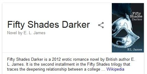 Fifty Shades Darker, aka Fifty Shades Greyer or Fifty Shades #2