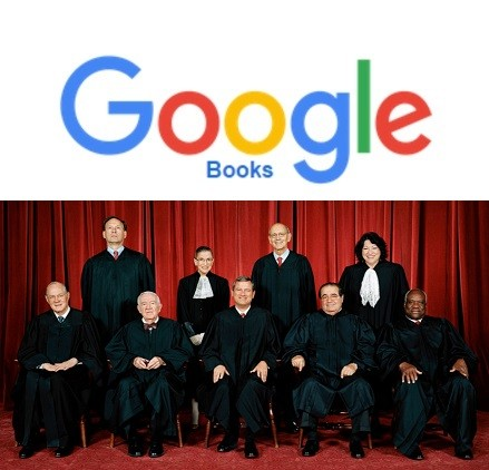 """Google Books"" Stay - Rules the US Supreme Court"