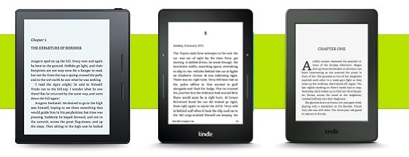 Kindle Oasis Review and Comparison vs Kindle Paperwhite and Kindle Voyage